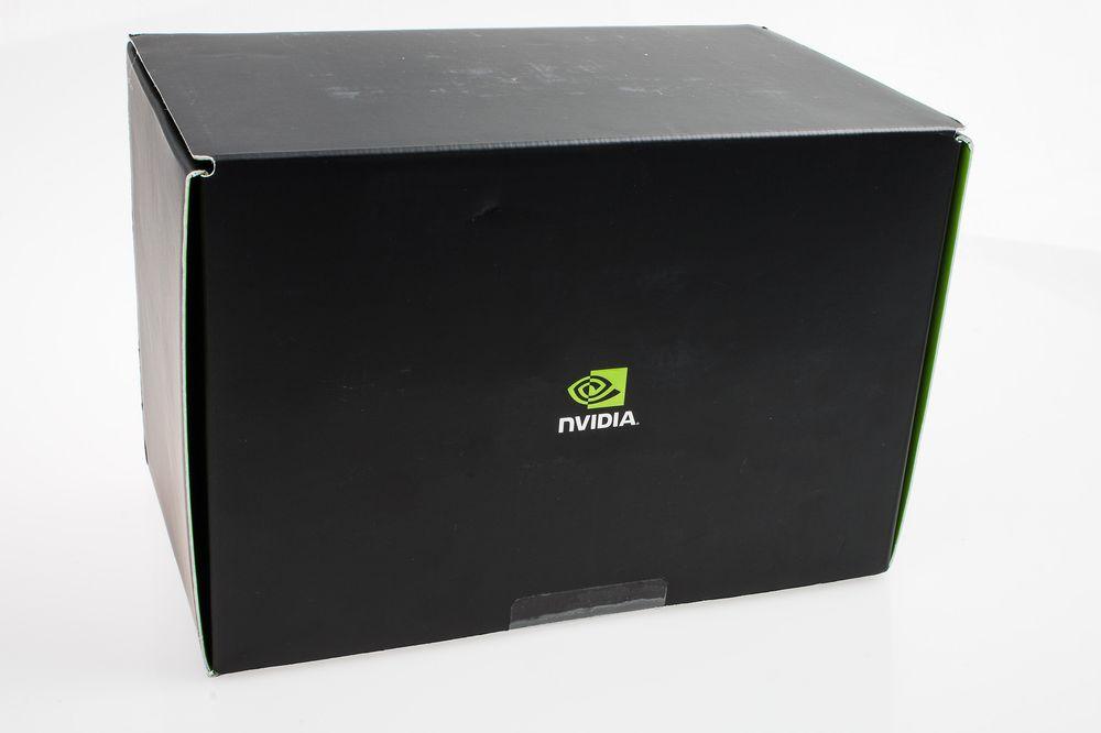 Vi mistenkte at denne anonyme boksen, uten noen markeringer bortsett fra Nvidias logo, inneholdt vårt Shield Tablet – men sikre var vi ikke.