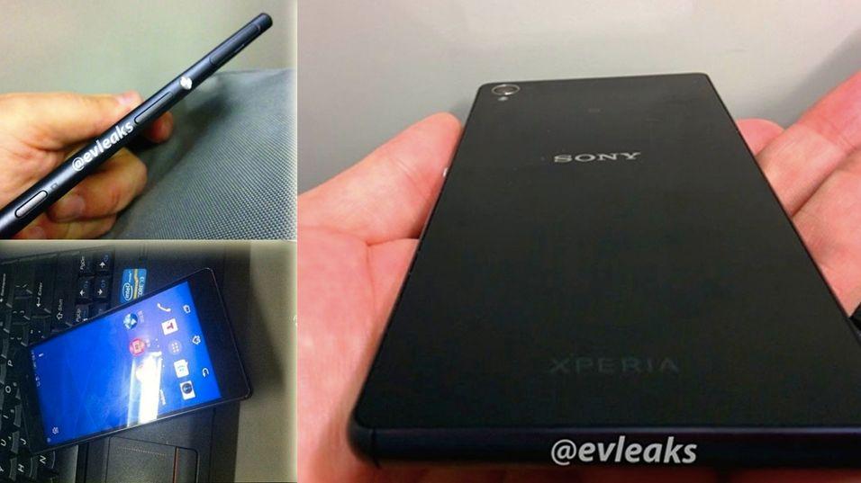 Dette er bildene av «Sony Xperia Z3»