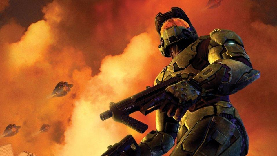 Konseptbilde fra Halo 2.