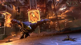 I Styx: Master Of Shadows måtte vi klatre opp et enormt tårn.