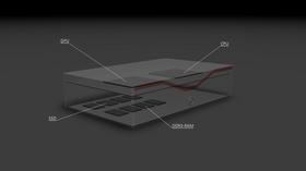 Her er en tegning som viser hvor de ulike komponentene er plassert. .