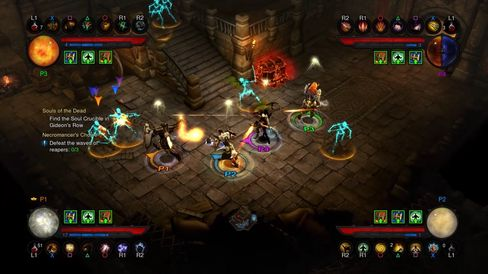 Samarbeid er viktig i Diablo III.