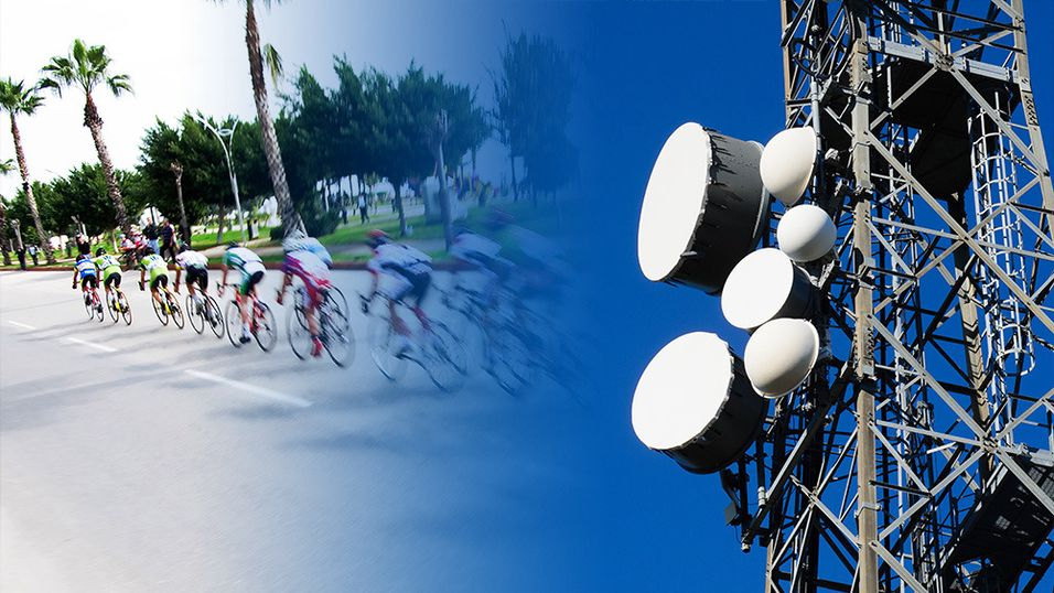 Ved å sende TV-signal i 100Hz blir spesielt sportssendinger langt skarpere.