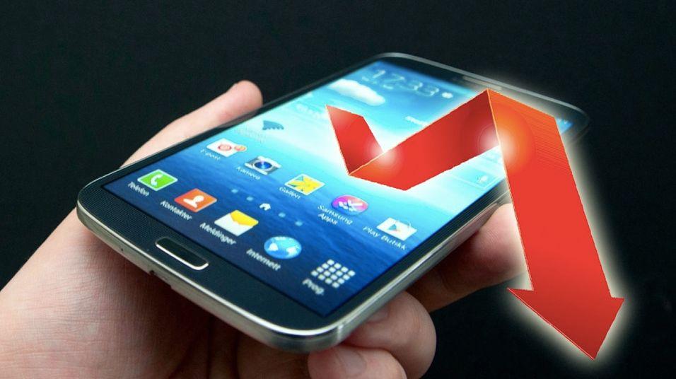 Færre velger Samsung