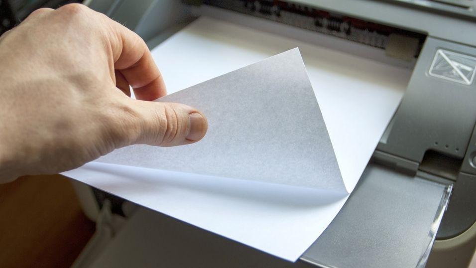 Forskere brukte papirark som «RAM-brikke»