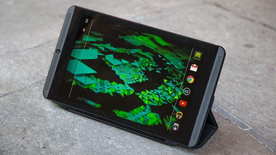 Dagens Nvidia Shield ser slik ut, og huser en Nvidia Tegra K1-brikke. Nå kan det være duket for en oppgradert utgave med den nye og raskere Tegra X1-brikken i førersetet.