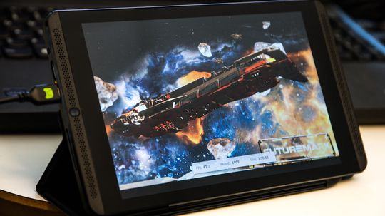 Nvidia spøkte ikke da de fortalte at Shield Tablet kunne kjøre 3D-grafikk bedre enn det meste.