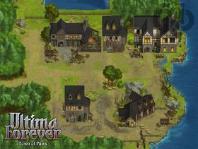 Skjermbilete frå Ultima Forever.