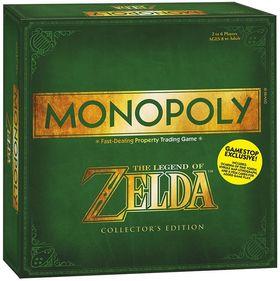 The Legend of Zelda Monopoly.