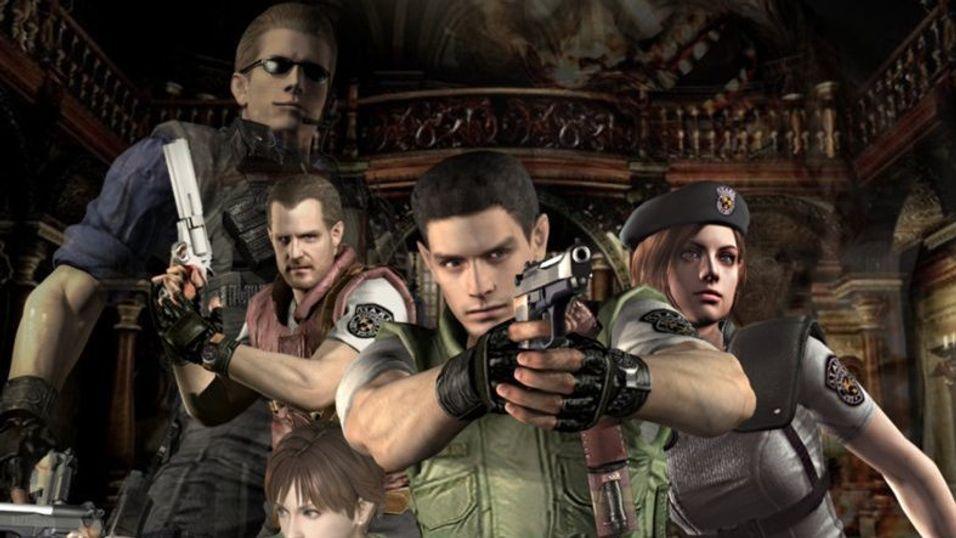 Resident Evil gjorde seg godt på GameCube.