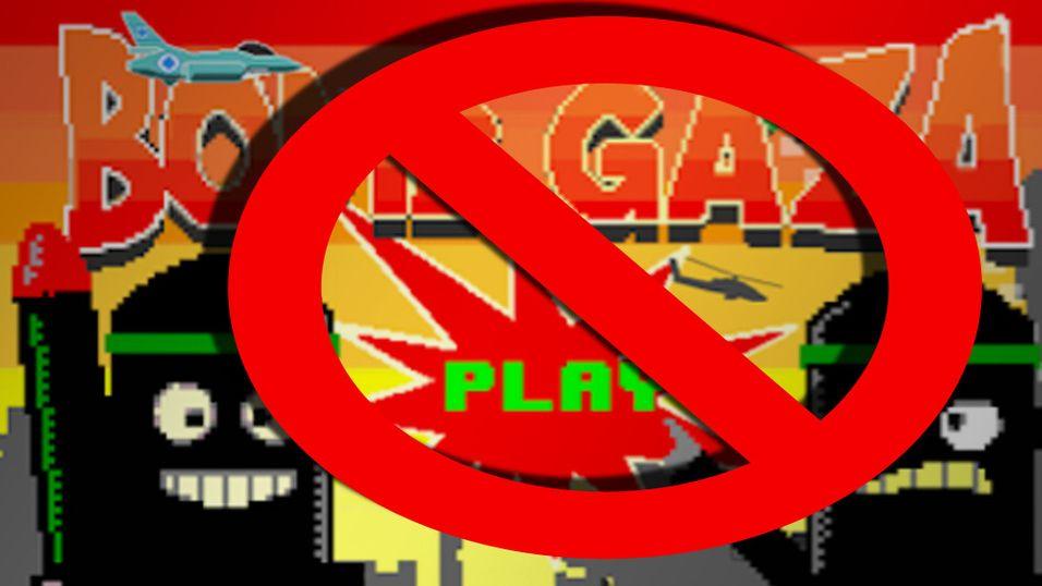 Bomb Gaza fjernet fra Google Play