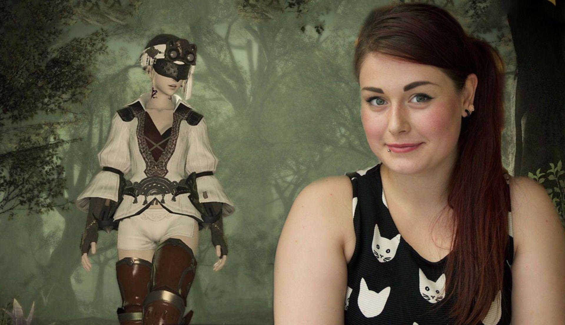 Christiane Kleppe elsker å prøve sidequestene i Final Fantasy XIV.