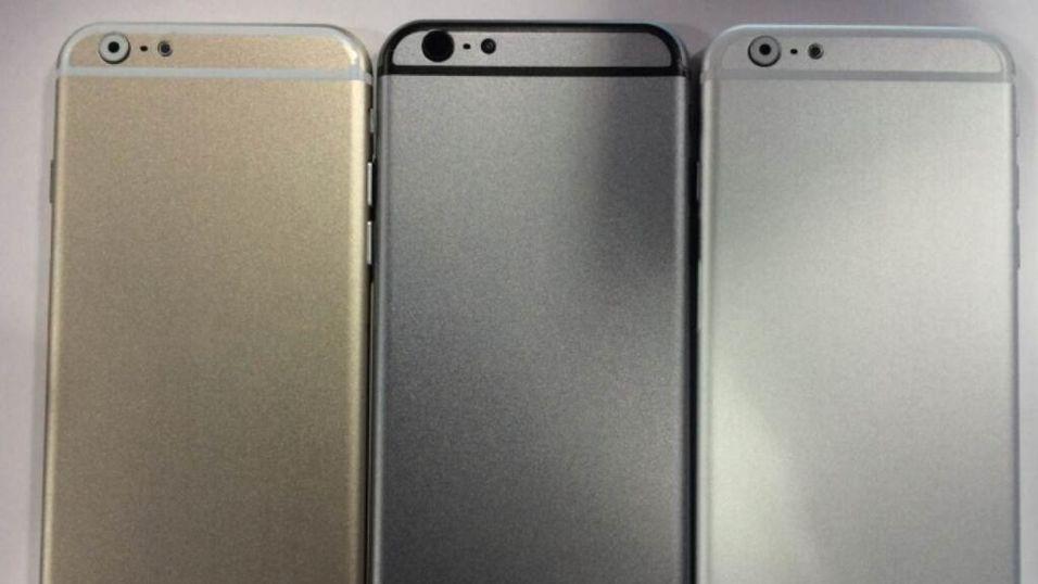 Dette bildet ble lagt ut av blogger og ryktemaker Sonny Dickson tidligere i år. Dickson har flere ganger tidligere truffet blink med iPhone-rykter i forkant av lansering.