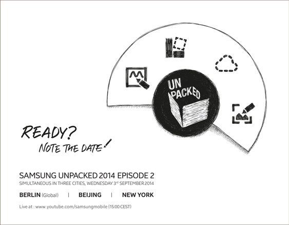 Slik ser invitasjonen til årets andre Unpacked-arrangement ut. Den levner liten tvil om hvilken telefon som blir stjernen i showet.