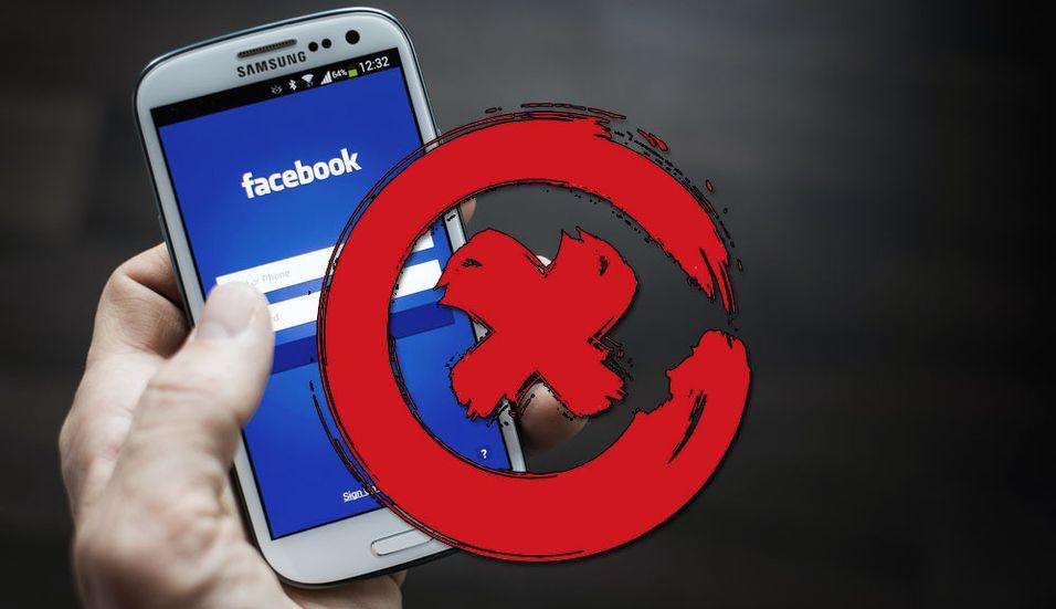 GUIDE: Slik sletter du Facebook-kontoen din