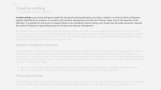 WritePlus hjelper deg holde konsentrasjonen oppe.