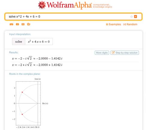 WolframAlpha er et orakel som kan svare på det meste.