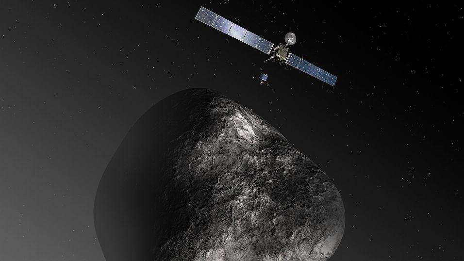 Organiske molekyler er funnet på kometen