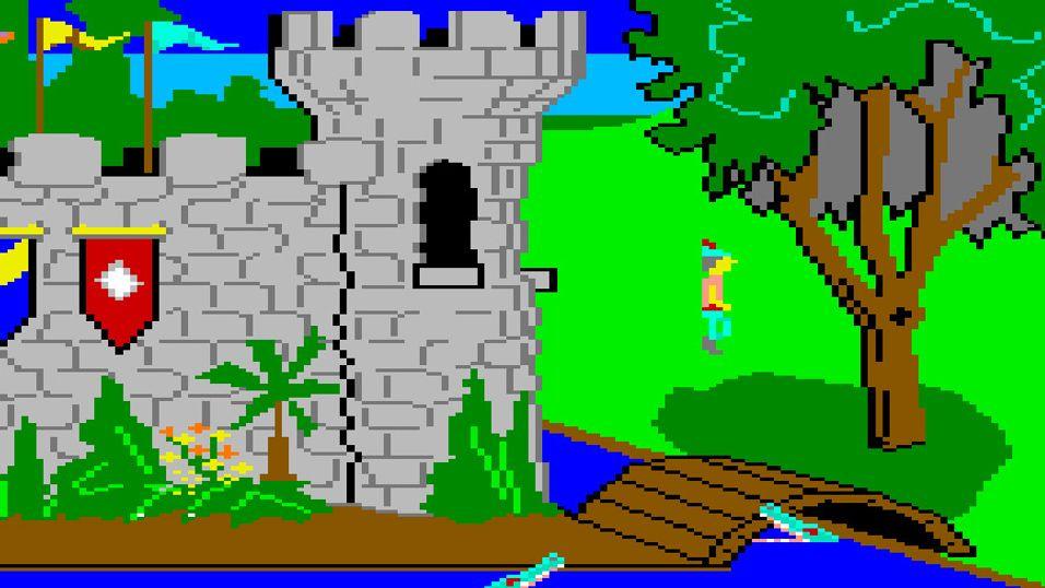 King's Quest-spillene til Sierra står høyt hos eventyrspillere verden over.