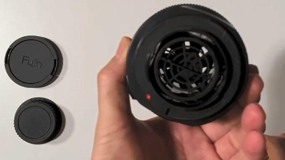 «Fake» objektiv vil suge ut støvet fra kameraet ditt