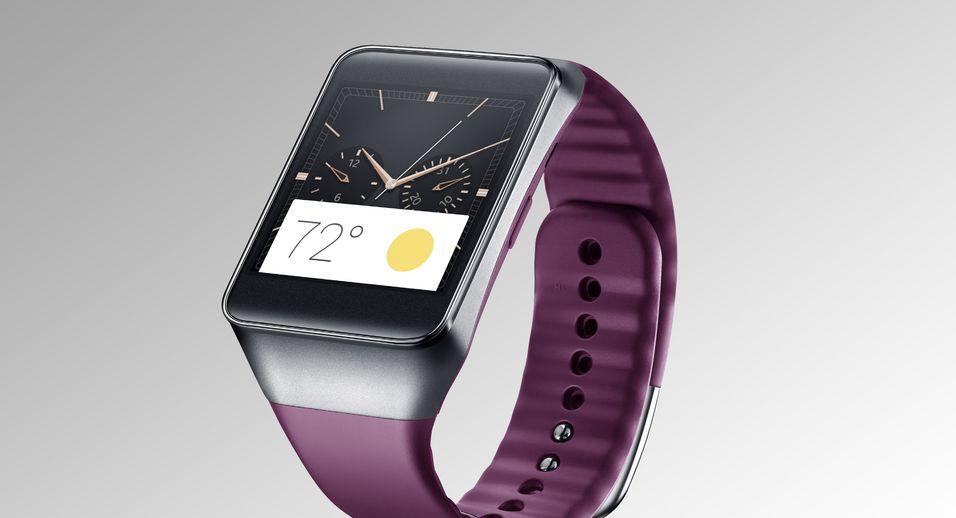 Samsungs Gear Live er selskapets første klokke basert på Googles Android Wear. Om under en måned kan ryktemodellen Gear Solo dukke opp.