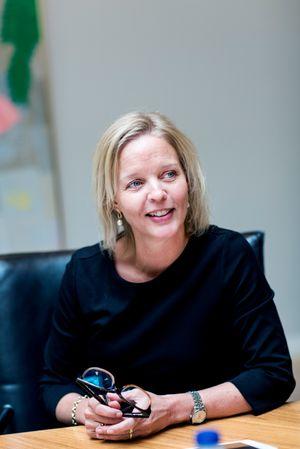 Pernille Erenbjerg blir nye sjef i TDC. Hun kommer fra stillingen som finansdirektør i selskapet.