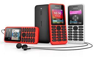 Nokia 130 vil komme i flere ulike farger.