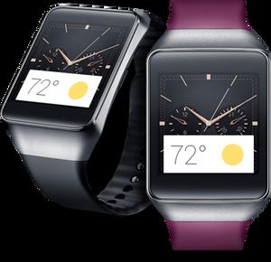 Samsung har også lansert en smartklokke basert på Googles operativsystem, men foreløpig har ikke Gear Live kommet til Norge.