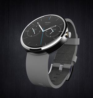 Moto 360 er Motorolas første Android Wear-klokke, og den som ser mest ut som et tradisjonelt armbåndsur av de tre.