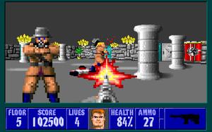 Wolfenstein 3D kom ut i 1990.