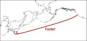 Kabelen skal gå mellom USAs vestkyst og Japans østkyst.
