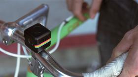 Kameraet er ment for aktive brukere, som for eksempel syklister.