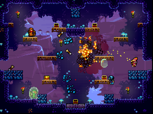 Towerfall Ascension vil få Share Play-funksjonalitet. (Skjermbilde: .
