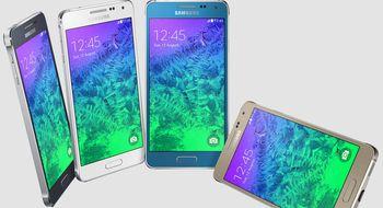 Samsungs nye metallmobil er lansert