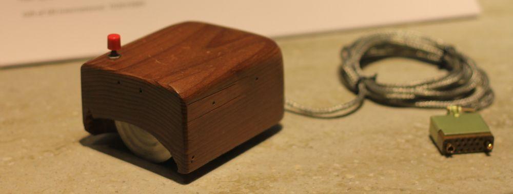 En av de første prototypene til Doug og Bill.