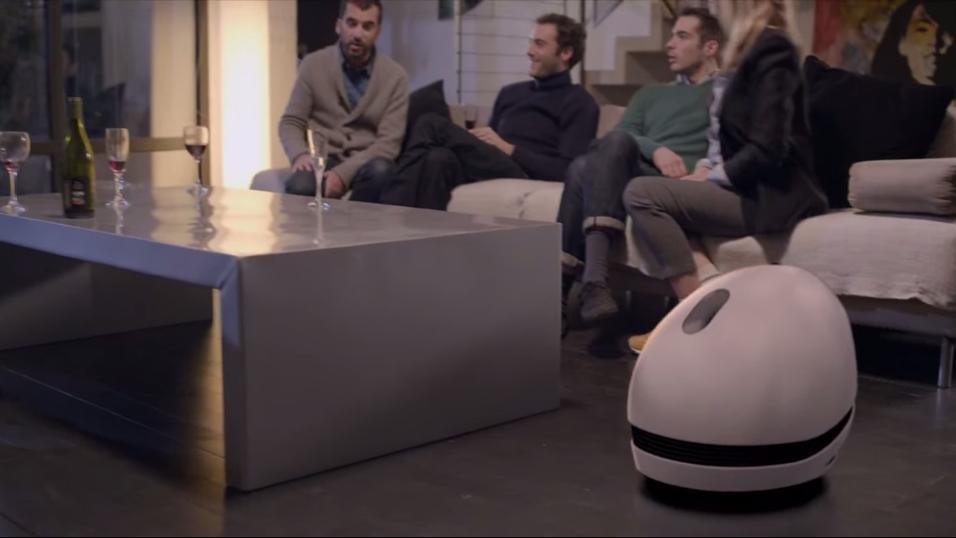 Denne roboten er et kjørende underholdningssenter