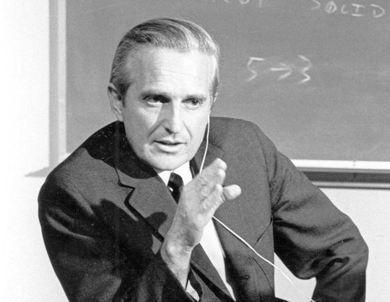Doug Engelbart i 1968.