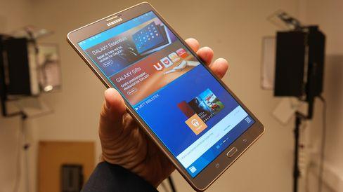 Samsung Galaxy Tab S er et svært vellykket nettbrett. .
