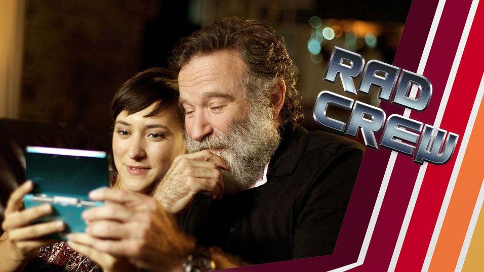 Robin Williams var en ivrig gamer. Her sammen med sin datter i forbindelse med en reklame for Nintendo 3DS.