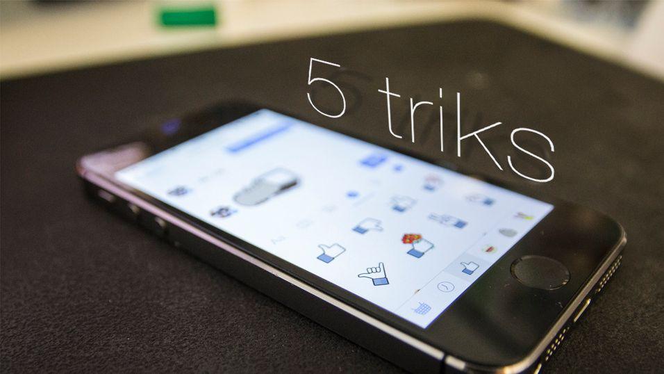 5 lure triks til Facebook Messenger
