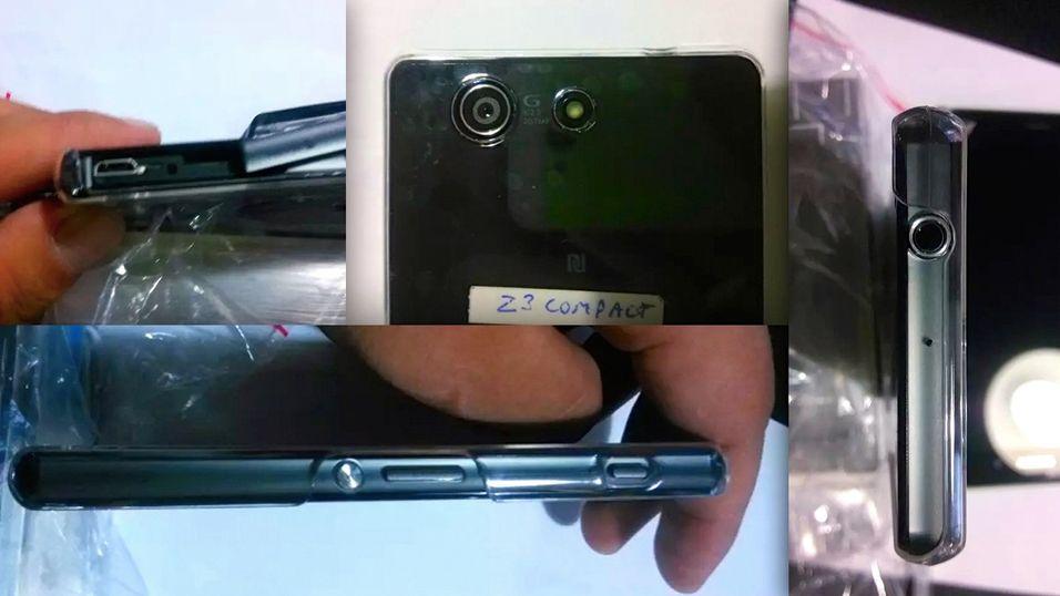 Sony Xperia Z3 Compact sett fra mange vinkler.