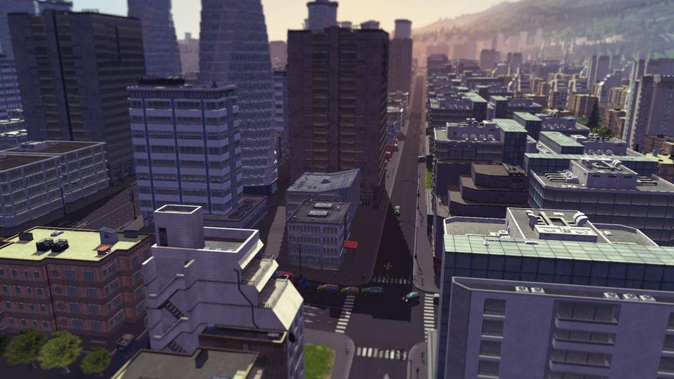 Bybygging i gigantiske miljøer