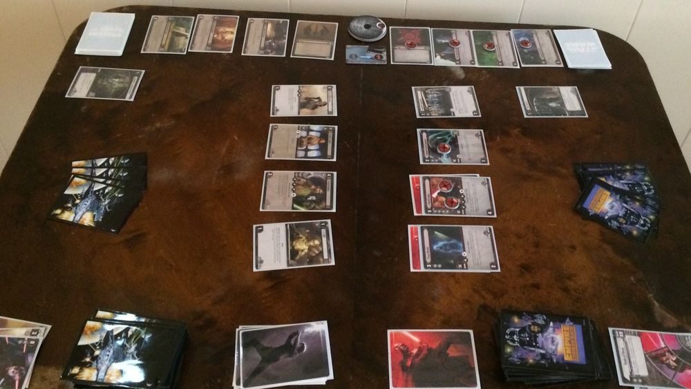 ANMELDELSE: Star Wars The Card Game