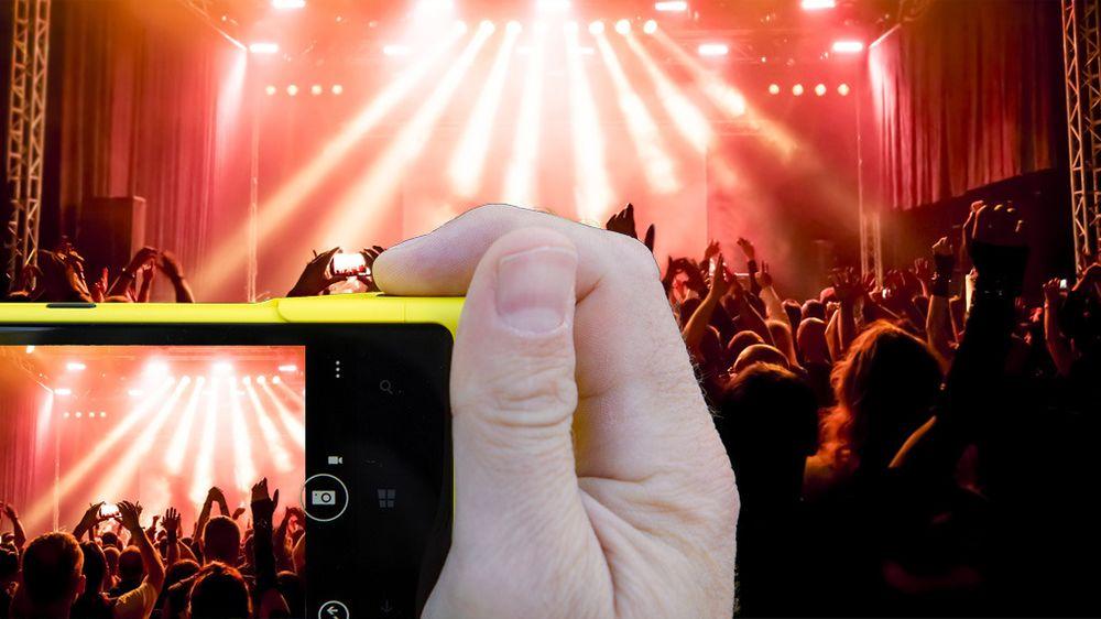 SAMLETEST: Fang drømme-konserten med den beste mobilen