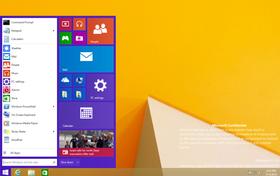 Startmenyen er etter sigende på vei tilbake, med den kjente menyen fra Windows 7 til venstre og Metro-fliser til høyre.