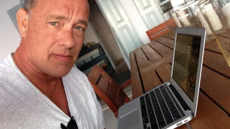 Tom Hanks gir ut iPad-app