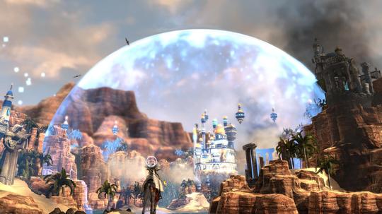 Magikerne isolerer seg gjerne, og beskytter byen sin med magi.