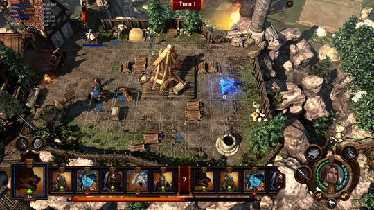 Kampmaskinene dukker opp igjen i Heroes VII. (Skjermbilde: Ubisoft.).