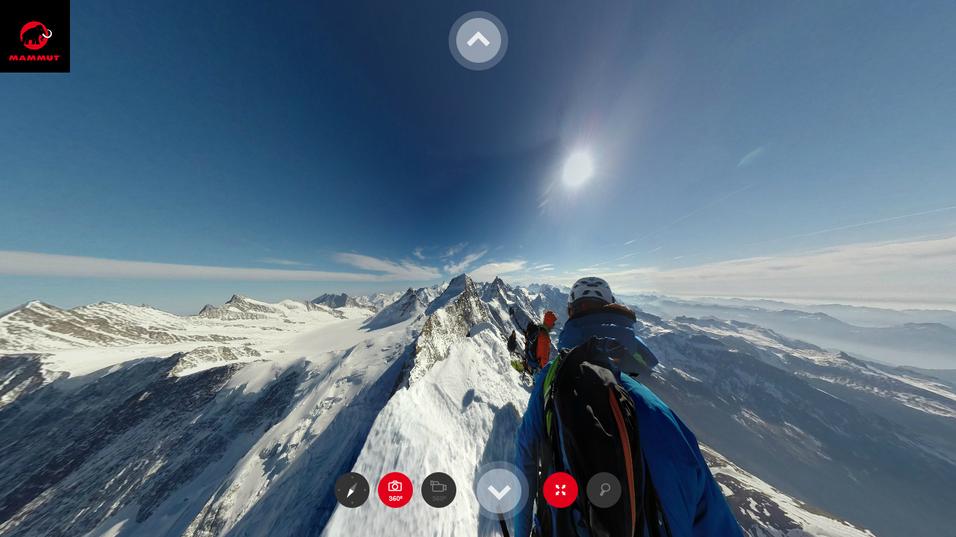 Klatret til fjells med 360-graders GoPro-rigg