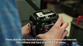 Slik så riggen med seks GoPro-kameraer ut.